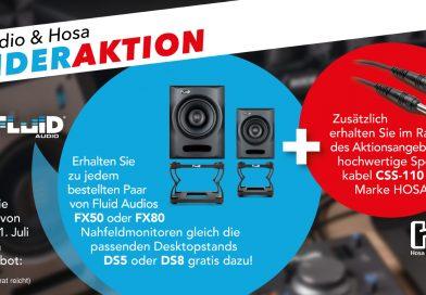 Sonder Aktion Fluid Audio 6/2021